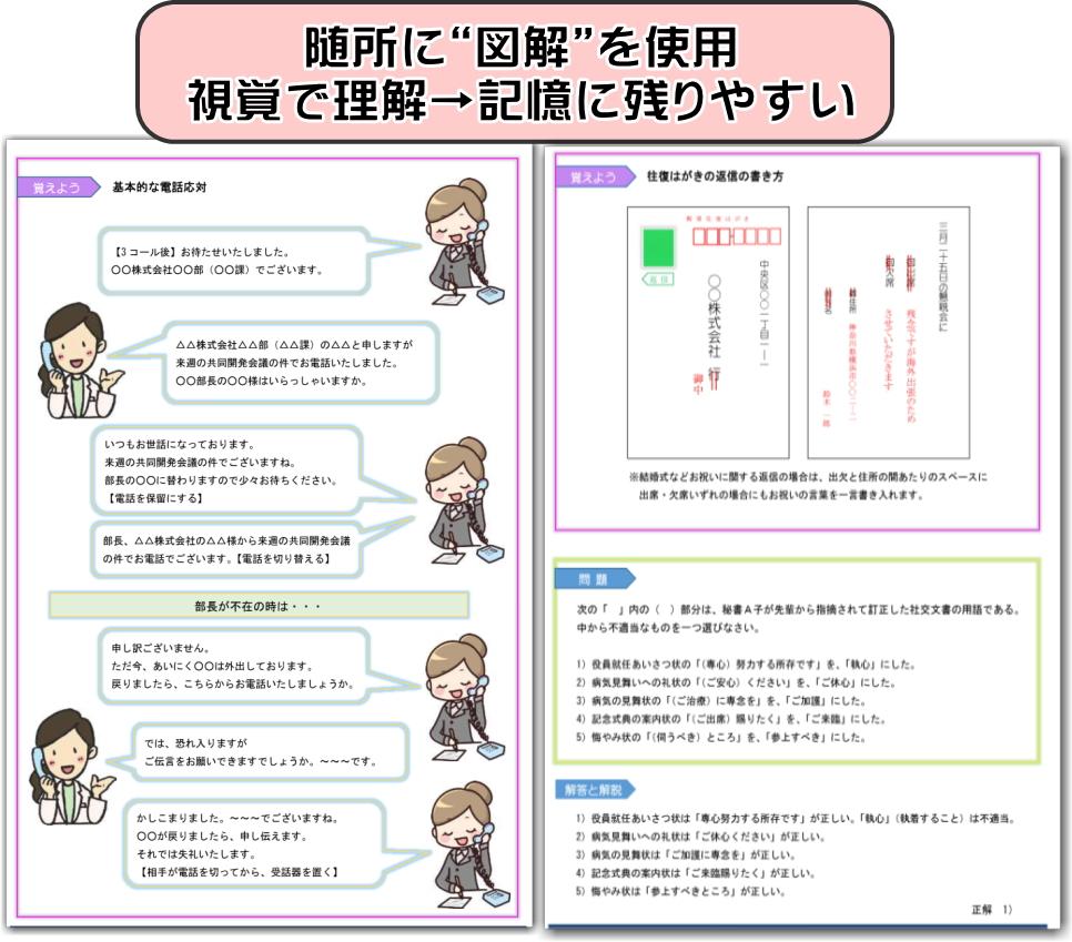 秘書検定 対策方法3